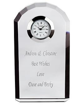 personalised-crystal-clock