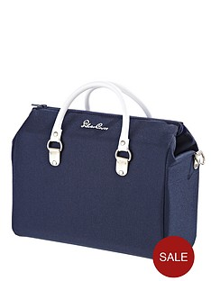 silver-cross-dolls-pram-bag-navy
