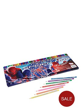 spiderman-50-piece-colouring-tin