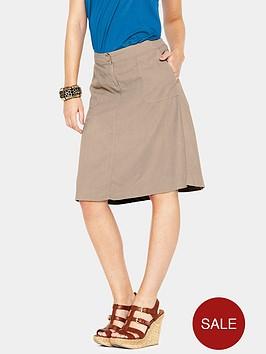 south-knee-length-linen-skirt