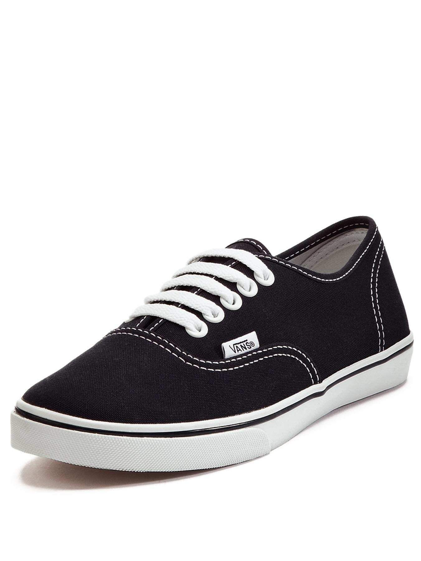 Authentic Lo Pro Plimsolls, Black