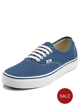 vans-authentic-junior-core-plimsolls-navy