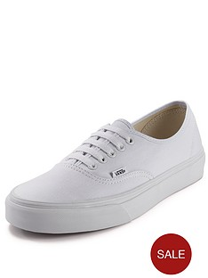 vans-authentic-junior-core-plimsolls-white