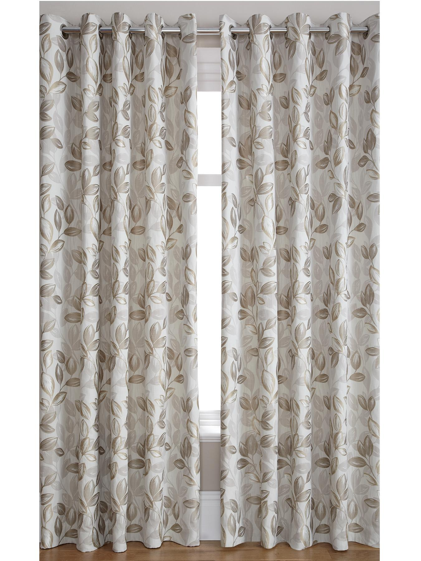 Heidi Jacquard Eyelet Curtains, Red,Black,Plum