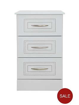 consort-dorchester-ready-assembled-3-drawer-bedside-cabinet