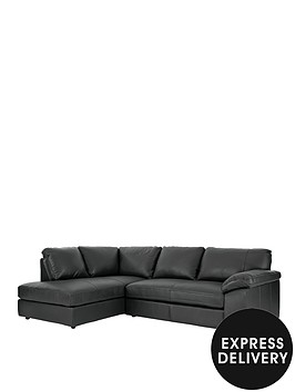 renee-left-hand-leather-corner-group-sofa