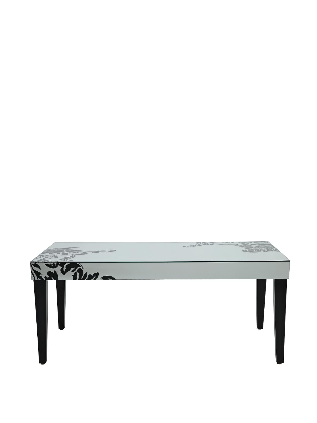 Scaramouche Coffee Table, Black,Bronze,Silver