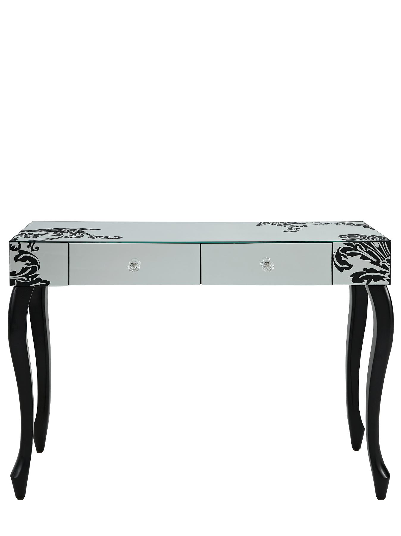 Scaramouche Hall Table, Silver,Bronze,Black