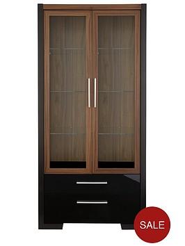 mezzo-2-door-2-drawer-display-unit