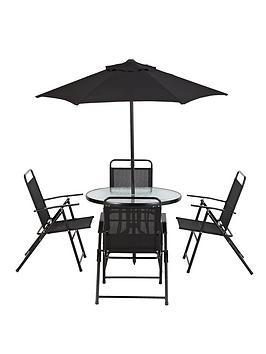 cuba-6-piece-dining-set-with-next-day-delivery-black