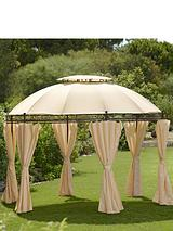 Steel Gazebo with Double Roof