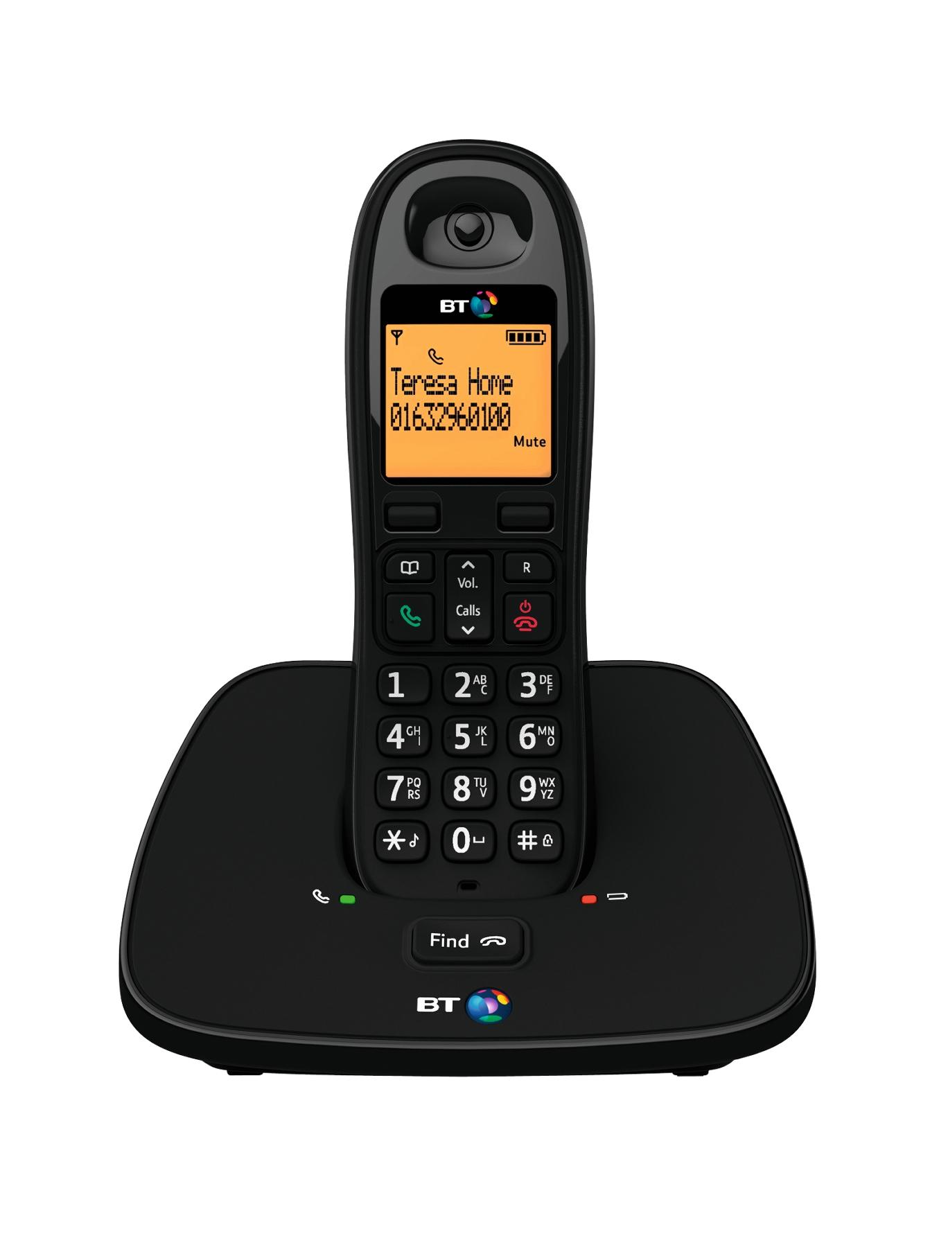 1000 Cordless Telephone - Single