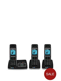 bt-6500-cordless-telephone-with-answering-machine-trio-pack