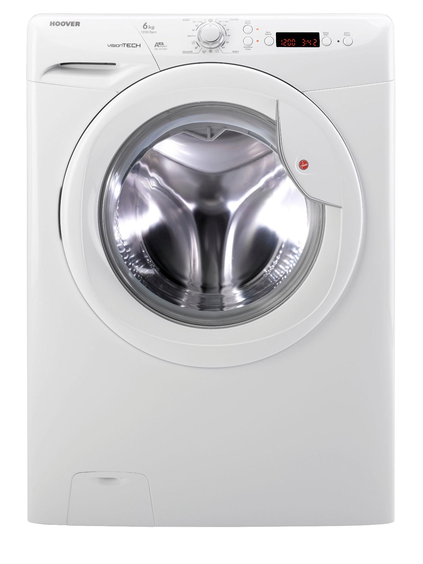 VTS612D21 1200 Spin, 6kg Load Washing Machine - White