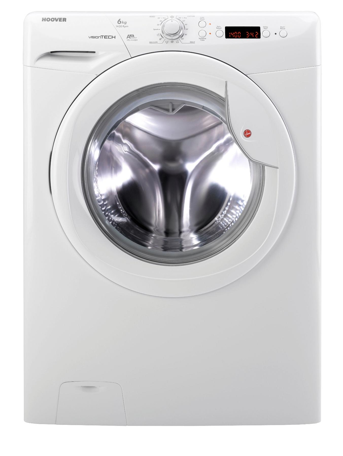 VTS614D21 1400 Spin, 6kg Load Washing Machine - White