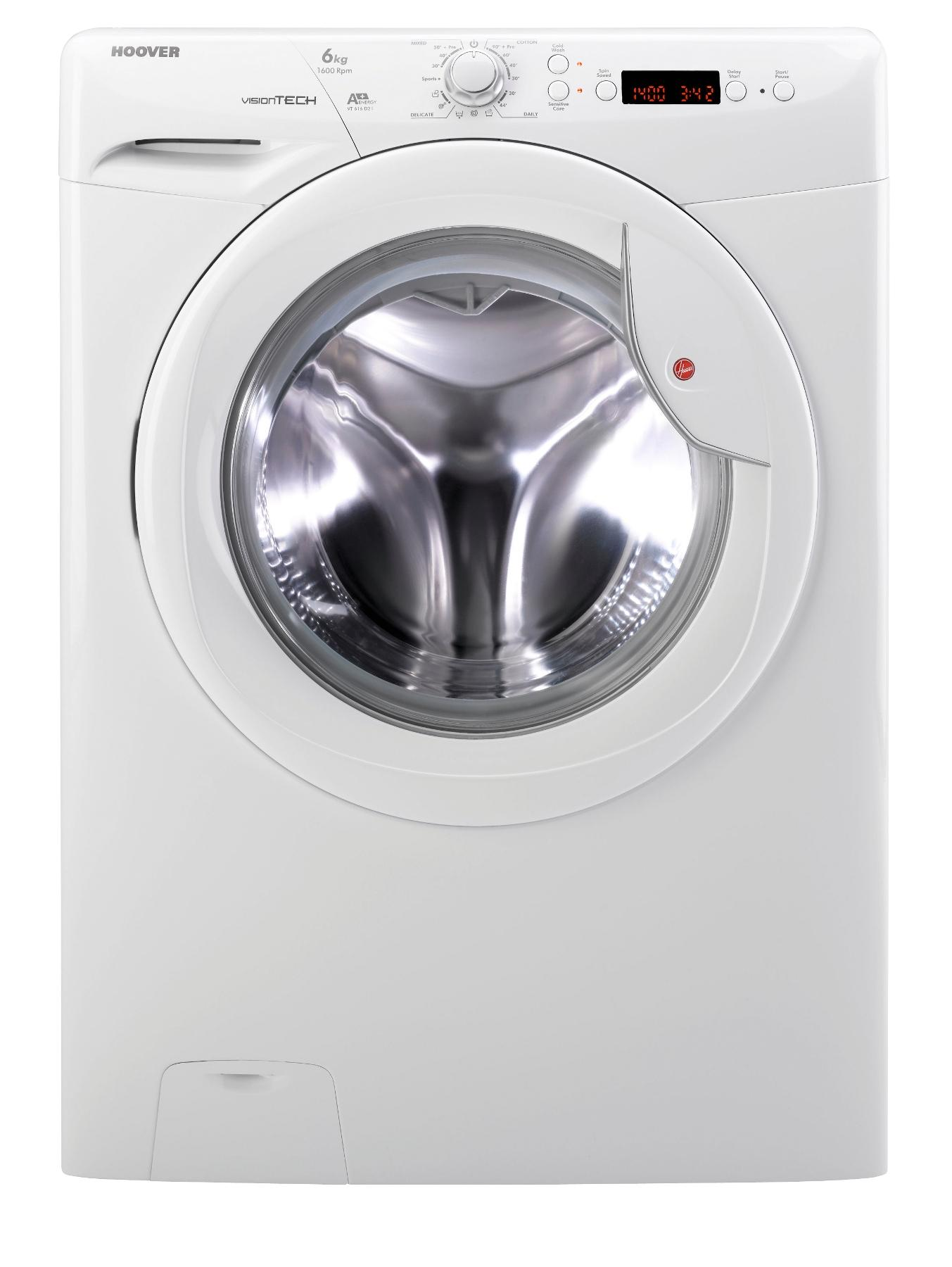 VTS616D21 1600 Spin, 6kg Load Washing Machine - White