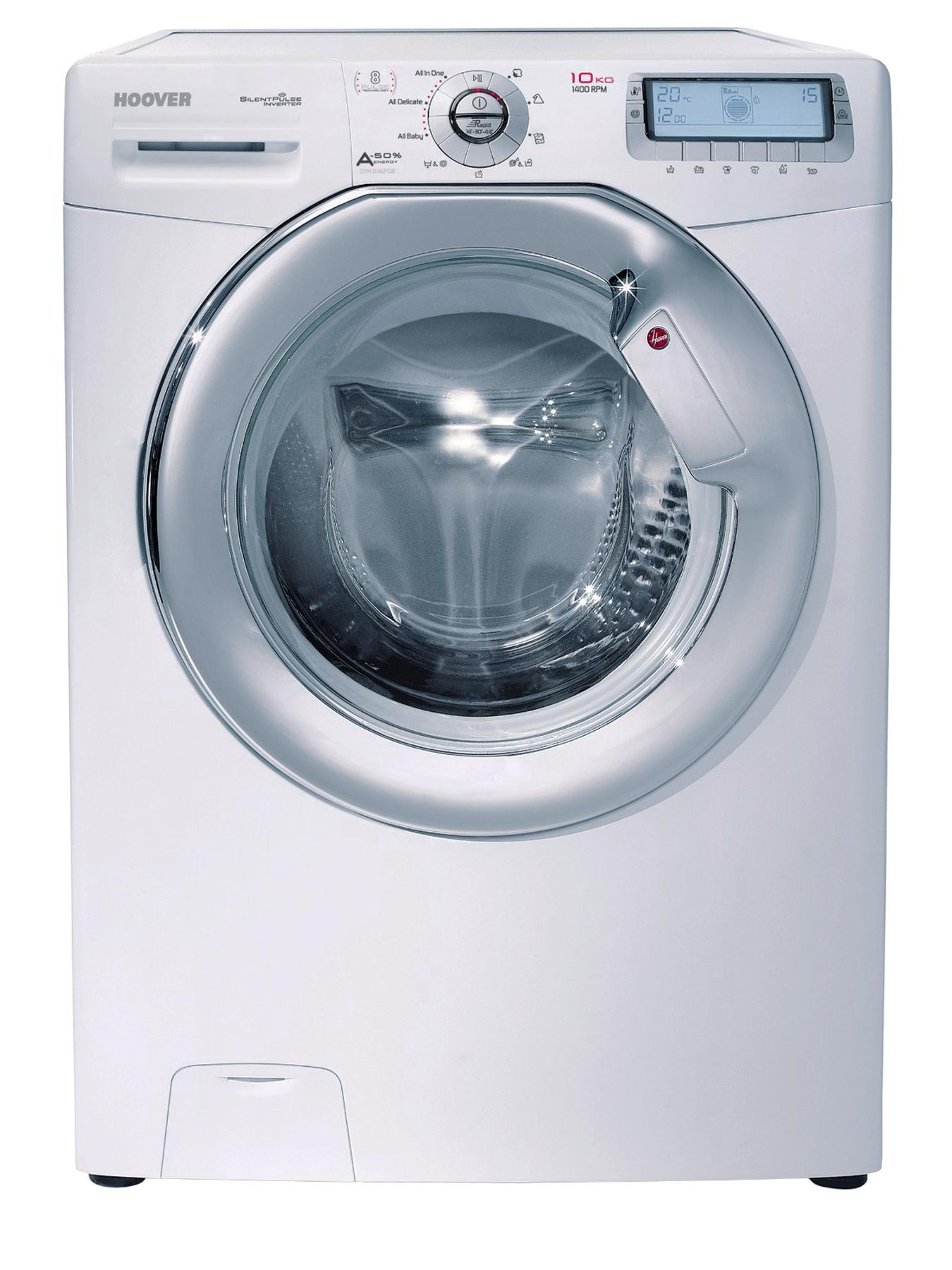DYN10146PG8 AIO 1400 Spin, 10kg Load Washing Machine - White