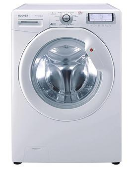 hoover-dyn10166pg8-1600-spin-10kg-load-washing-machine-white