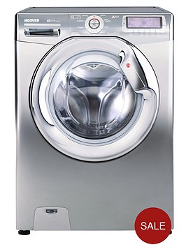 hoover-dyn11146p8ch-1400-spin-11kg-load-washing-machine-silver