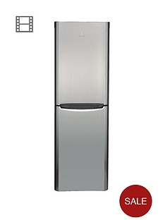 indesit-biaa134px-60cm-fridge-freezer-stainless-steel
