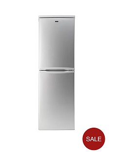 candy-csc1745se-55cm-fridge-freezer-silver