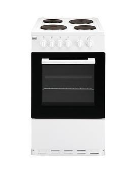 swan-sx1011w-50cm-single-oven-electric-cooker-white