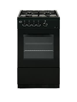 swan-sx1031b-50cm-gas-cooker-with-fsd-next-day-delivery-black