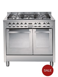 hotpoint-eg902gxs-90cm-dual-fuel-range-cooker-stainless-steel
