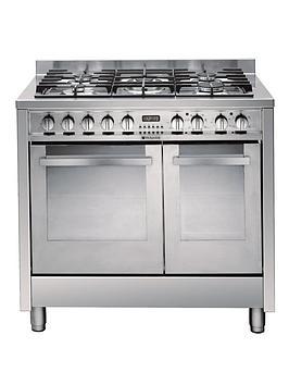 hotpoint-eg902gxs-90cm-dual-fuel-range-cooker-stainless-steel