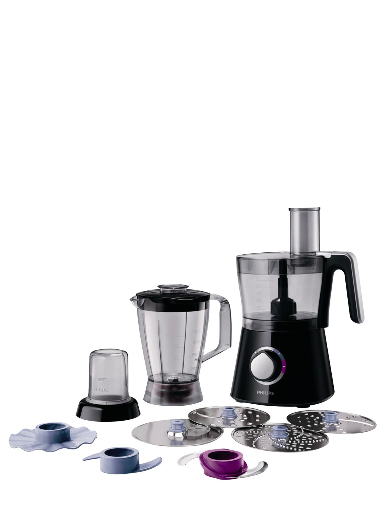 HR7762 Viva Collection Food Processor - Black