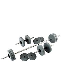 everlast-25kg-vinyl-barbelldumbbell-set