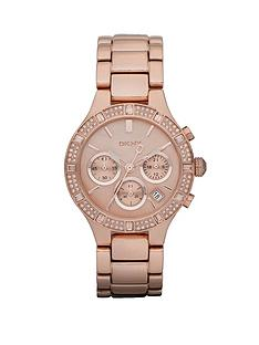 dkny-ladies-rose-gold-crystal-and-chrono-dial-watch