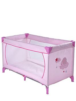 ladybird-travel-cot-pink