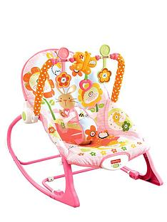 fisher-price-rainforest-infant-toddler-rocker-pink