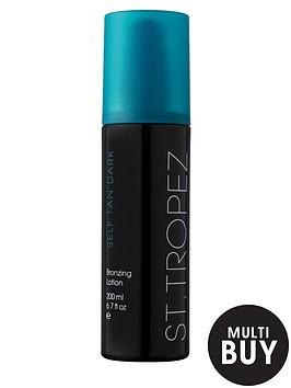 st-tropez-self-tan-dark-lotion-200ml-and-free-st-tropez-cosmetic-bag-set