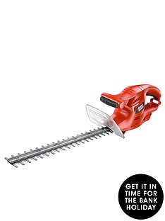 black-decker-gt4245-gb-420w-hedgetrimmer-45cm-blade-length-free-prize-draw-entry