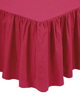 Buy cheap red tab top curtains compare curtains blinds for Divan valance