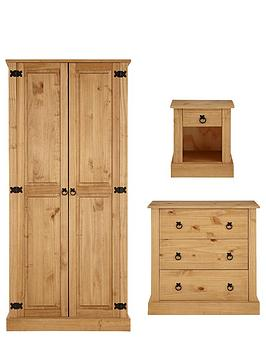 amazon-solid-pine-bedroom-furniture-set-wardrobe-chest-of-drawers-bedside-cabinet