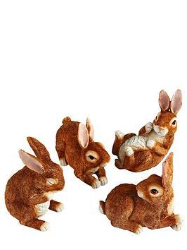 garden-rabbit-figurines-4-pack