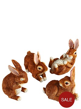 garden-rabbit-figurines-4-pack