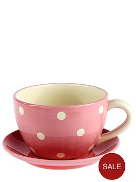 pink-ceramic-teacup-planter
