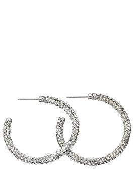fiorelli-crystal-pave-hoop-earrings