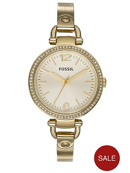fossil-ladies-georgia-metallic-gold-watch