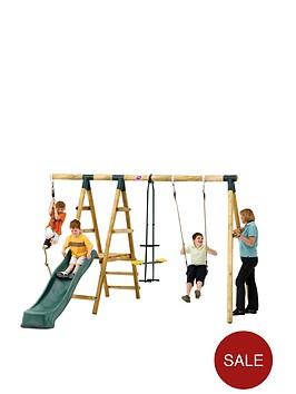 plum-meerkat-wooden-garden-swing-set