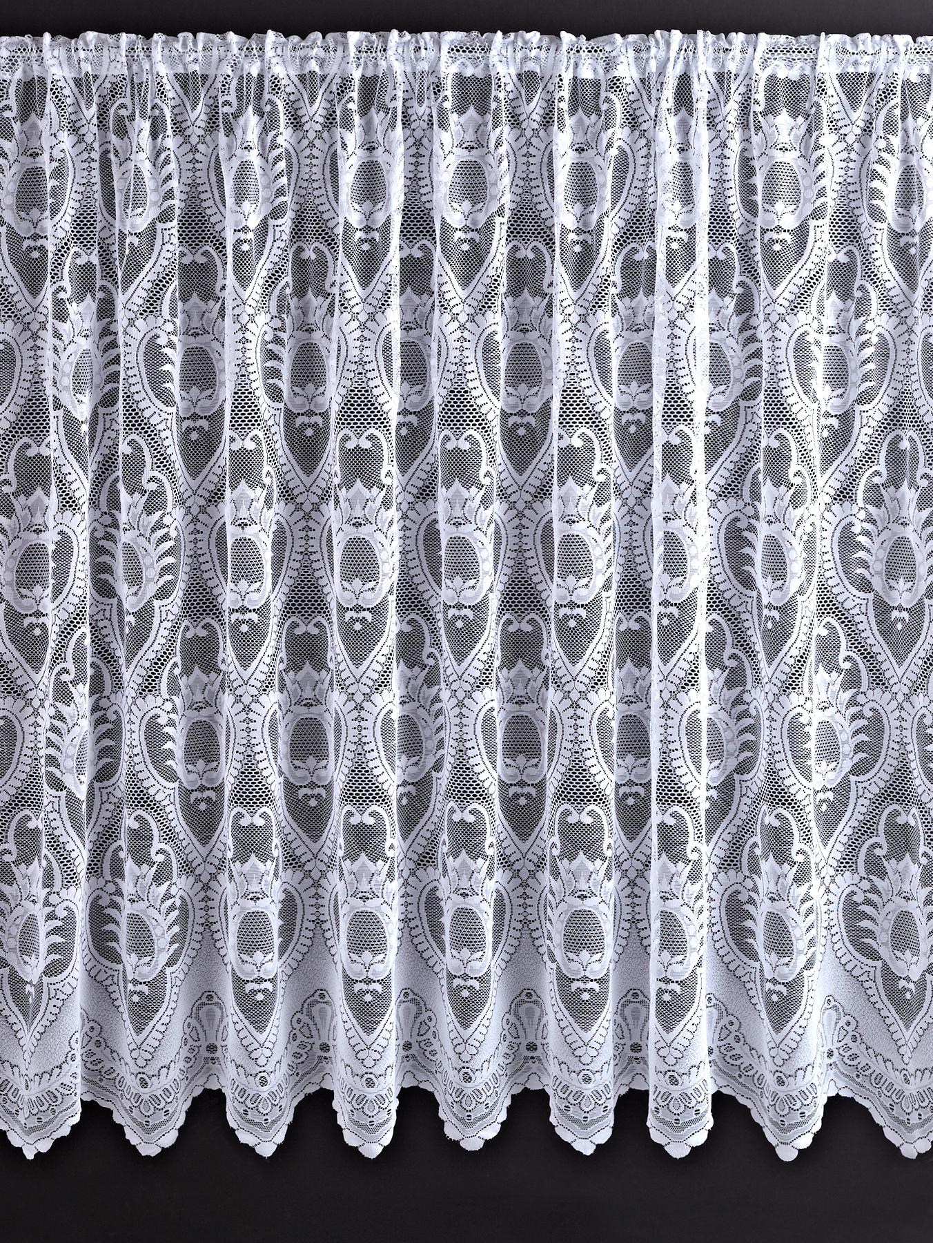 Leona Net Curtains, White at Littlewoods
