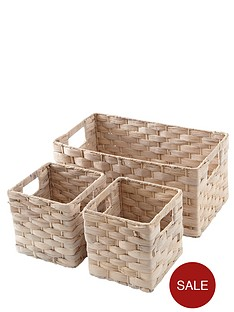 set-of-3-water-hyacinth-baskets-ivory