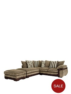 mendoza-left-hand-single-arm-corner-chaise-plus-footstool