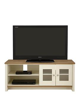 Consort Tivoli Ready Assembled Tv Unit  Fits Up To 52 Inch Tv