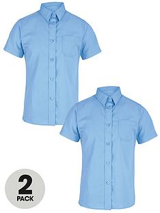 top-class-girls-short-sleeve-shirts-2-pack