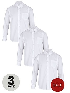 top-class-boys-long-sleeve-school-shirts-3-pack